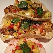 Lola's Spices Fish Tacos