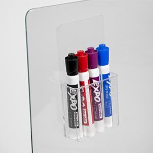 marker holder for non-magnetic boards