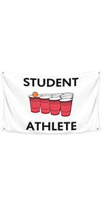 Student Athlete Flag