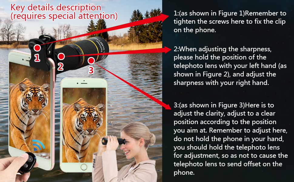 Phone Lens for iPhone Samsung Pixel Android