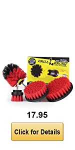 Red Drill Brush