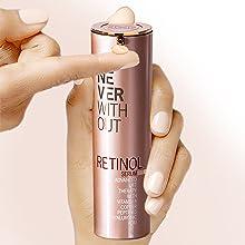 Airless Spender falten creme mit retinol creme with retinol porenverfeinernde creme antiaging cream