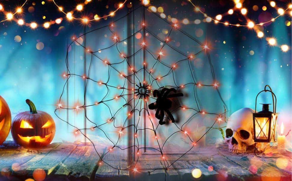 Spider Web Light