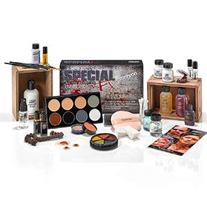 special effects makeup kit beginners zombie fx palette white black make up vampire girls todoroki