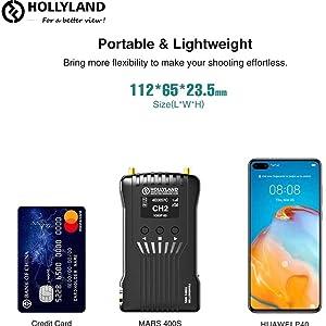 Portable & Lightweight