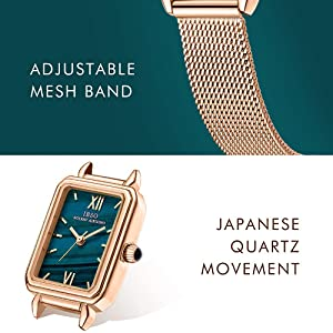 green square watches
