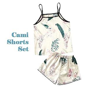 Cami Shorts Pants Set