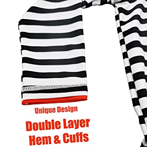Double Layers at Hem amp; Cuffs
