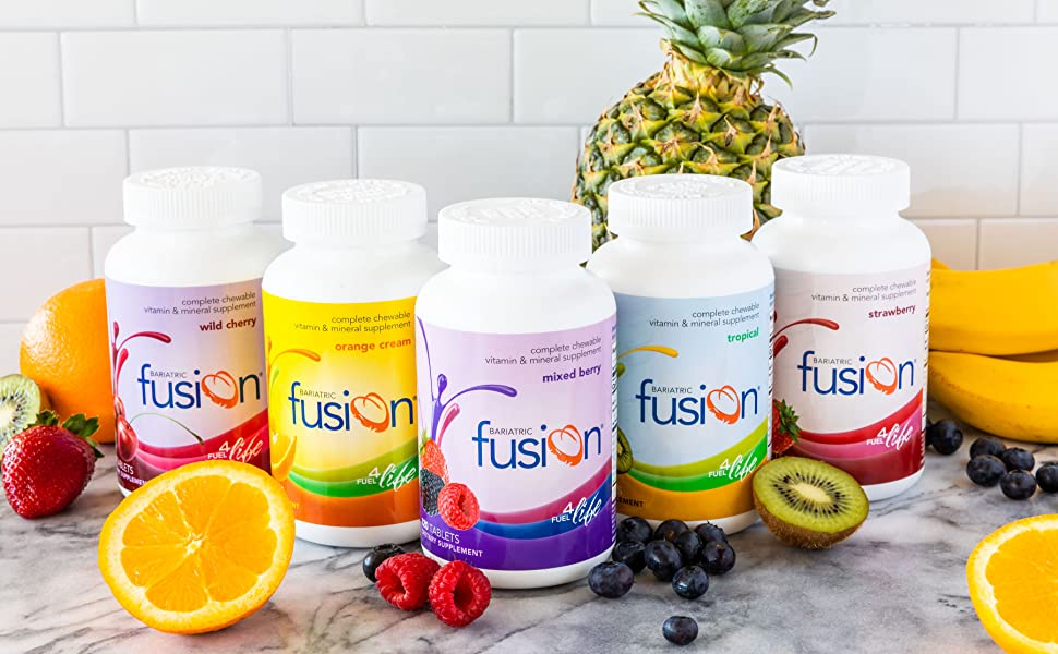 Bariatric Fusion Complete Chewable Family for weight loss surgery patients