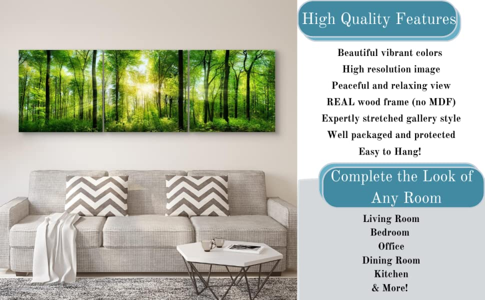wComplete the Look of Any Room with High Quality Features