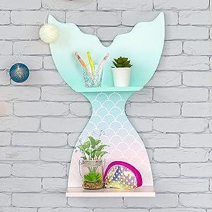 Mermaid shelf