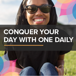 conquer your day with one daily