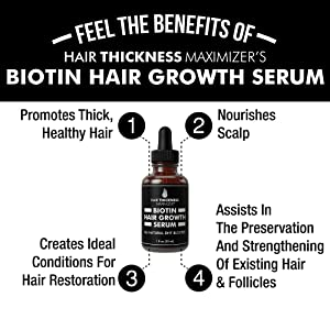 biotin hair growth serum 1oz