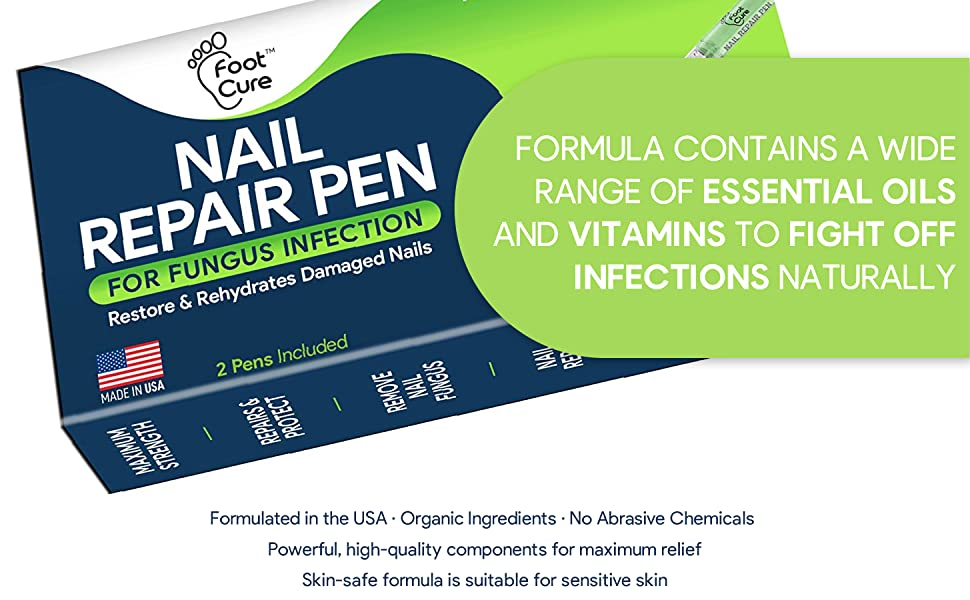 pen for removing fungus infection