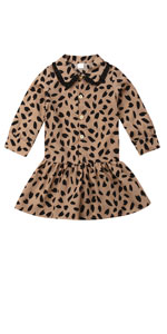 baby girl dress leopard