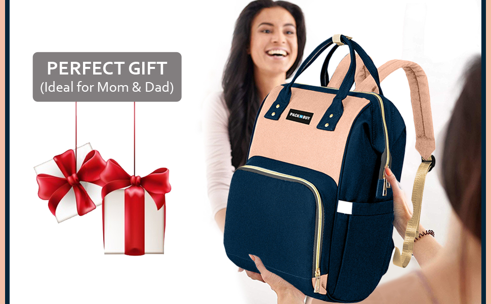 mom travel maternity mummy organizer waterproof diaper bag backpack baby shower father gift parent