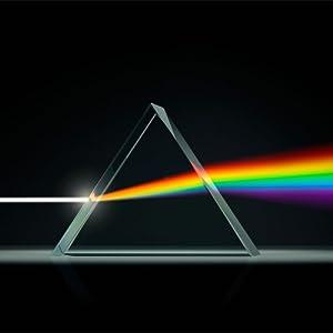 triangular crystal prism