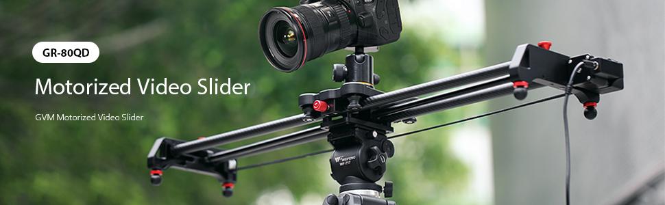 motorized video slider