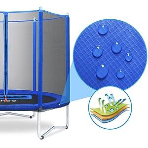 trampoline spring pad