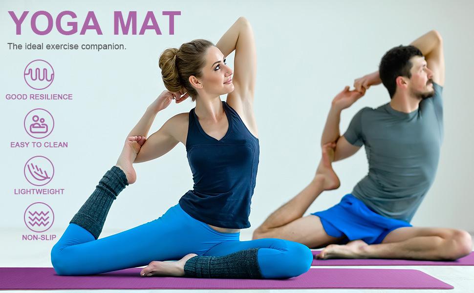 large size gym mat yoga exercise mat gym yoga mats gym mat men 6mm gym mat for yoga yoga mat for yog