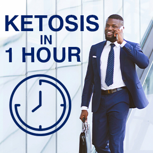 ketosis in 1 hour ketogenic ketone levels