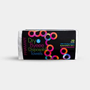 Dry and Bye, Towels, Disposable, Biodegradable, Natural, Saves Money, Hygienic