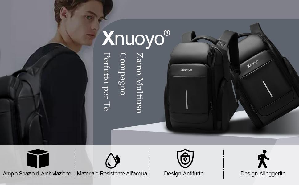 Xnuoyo 15.6in Laptop Backpack