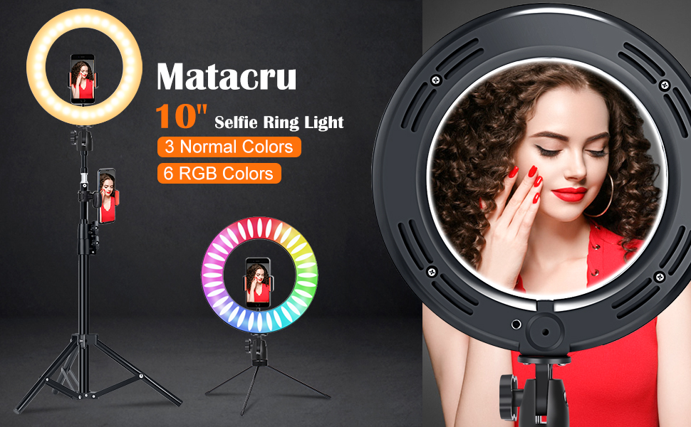 ring light with tripod