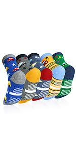 5 pares Niños Calcetines de Invierno Algodón Caliente Antideslizantes Calcetines 3-5 Años