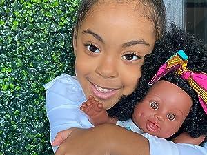 black doll, hispanic doll, latino doll, biracial doll, afro doll, african american doll, curly doll