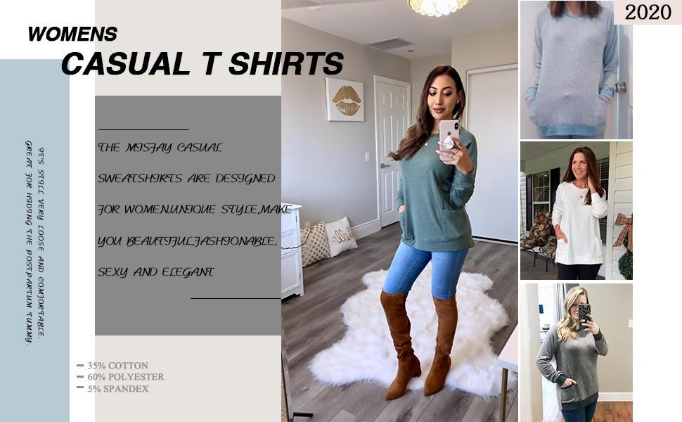 T Shirts Blouses Tunic