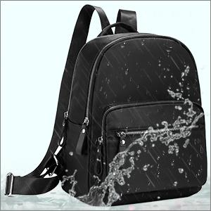 Backpack Womens Small Rucksack Waterproof Nylon Daypack Lightweight Handbag School Fashion Ladies