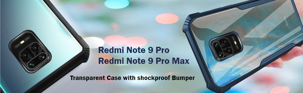 Redmi note 9 pro-pro max shockproof cover