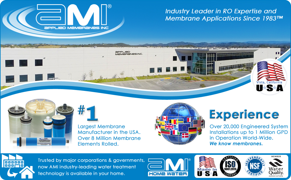 Applied Membranes Inc.  Water Treatment Systems and RO Membranes Manufacturer