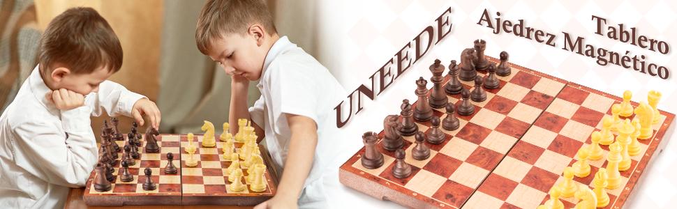 .ajedrez para niños ajedrez magnetico plegable madera