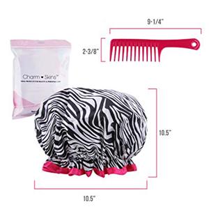 shower cap hair hat women men kid disposable reusable processing bath plastic extra large