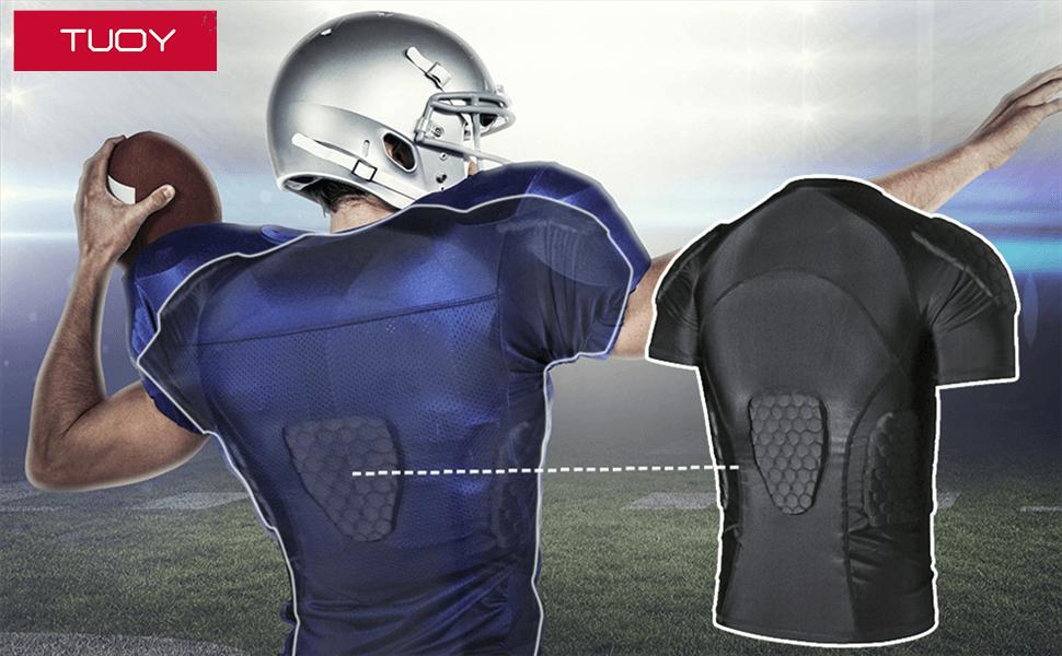 Men's Padded Football Shirt