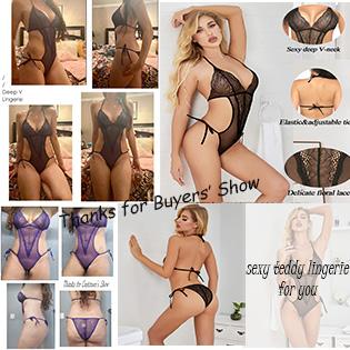 teddy lingerie for women