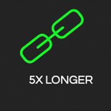 5x longer