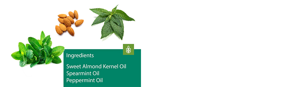 Sweet Almond Kernel Oil Spearmint Oil Peppermint Oil