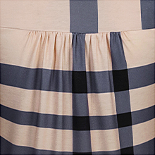 Pleated feature
