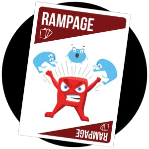 rampage card, bruhaha card game, high quality game, gift ideas