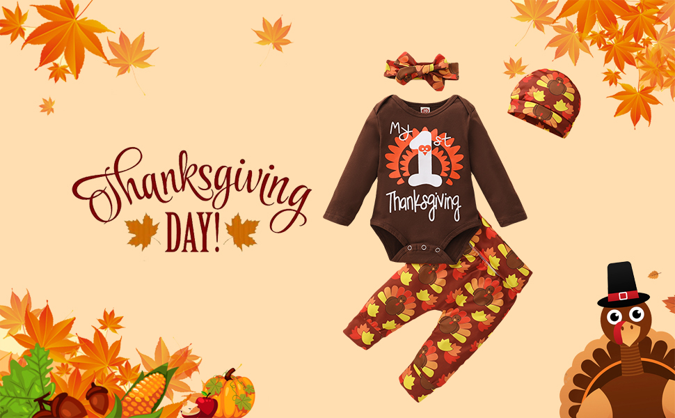 baby Thanksgiving clothes