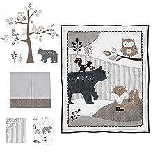 Woodland Forest 5-Piece Baby Crib Set