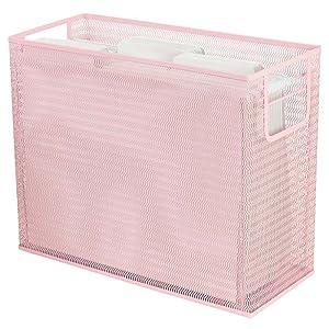 Pink Hanging File Folder Holder