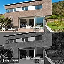 1080p hd camera ir led night vision camera 165ft night vision distance camera outdoor ip camera