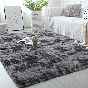 bedroom grey rug