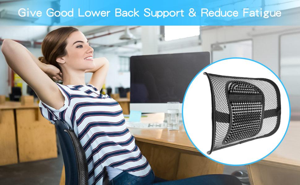 Mesh Lumbar Support Chair Back Support