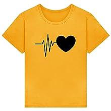 T-shirt donna camicetta bluse maglietta donna camicia tee top manica corta estive