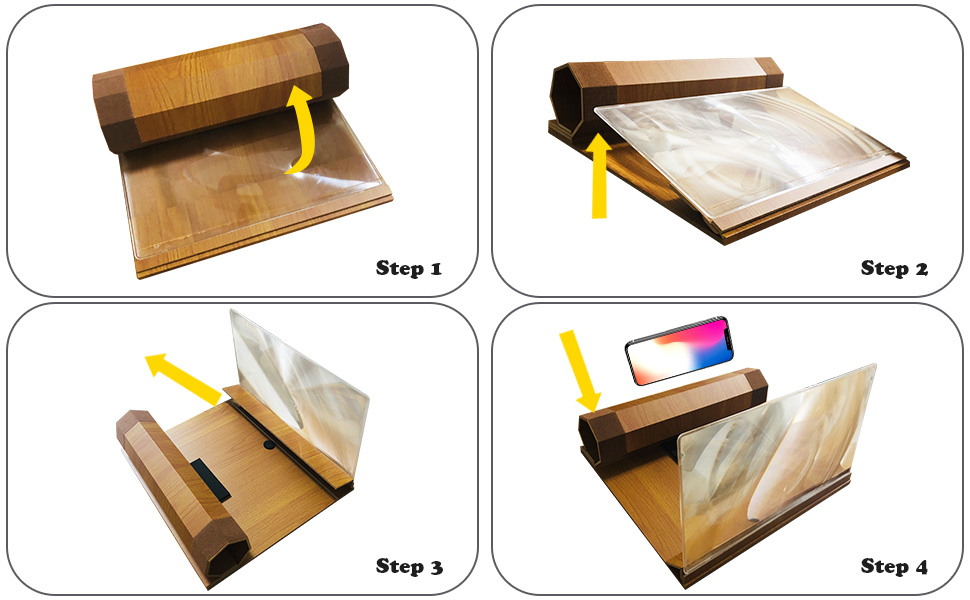 How to use screen magnifier